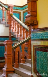 Interior Staircase of Pierhead Building