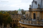 View from Radcliffe Camera I, Oxford, UK (October 2014)