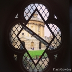 View from Radcliffe Camera II, Oxford, UK (October 2014)