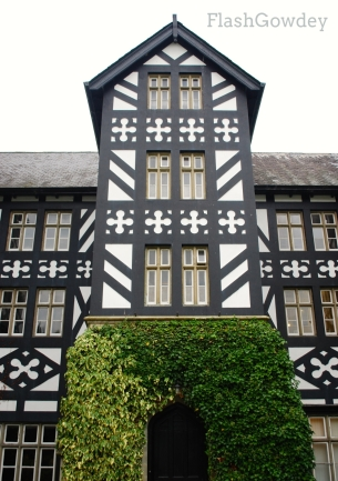 Main Entrance, Gregynog Hall, Wales (October 2014)